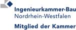 Mitglied in der Ingenieurkammer Bau Nordrhein-Westfalen