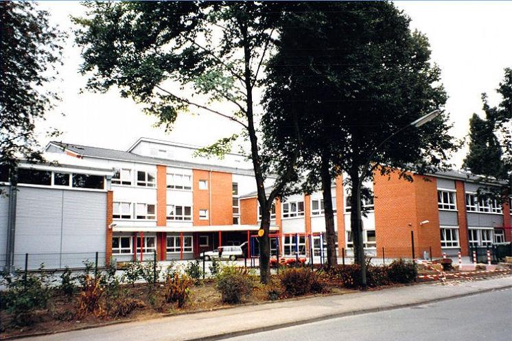 Außenansicht Hauptschule Schillerstraße Castrop-Rauxel